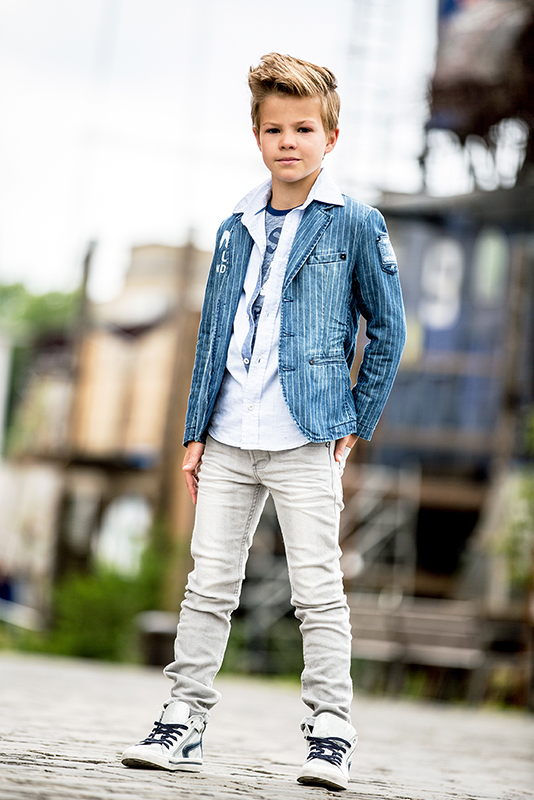 Seven one seven blazer bento jeans gestreept truien vesten - Foto baby jongen ...